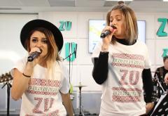 LIVE: Raluka și Irina Rimes aduc în prezent hituri de la Bambi și Holograf (FOTO și VIDEO)
