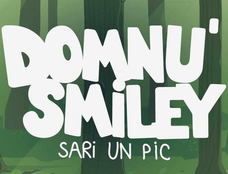 "Smiley a lansat jocul online ""Domnu' Smiley, sari un pic"""