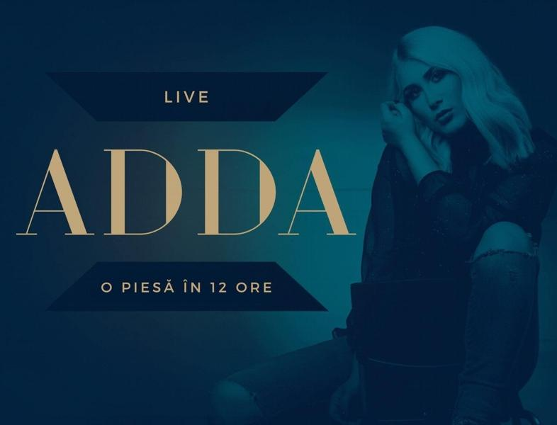 ADDA îți arată live ACUM pe Facebook cum compune o piesă în 12 ore