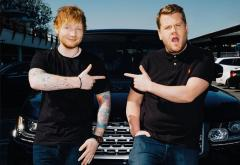 VIDEO: Ed Sheeran și James Corden cântă hituri de la J. Bieber și One Direction la Carpool Karaoke