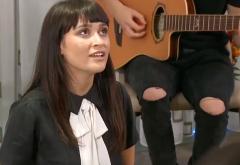 Trei piese noi de la Irina Rimes cântate live în sufrageria ei