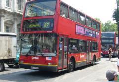 Carburant special pentru autobuzele etajate din Londra