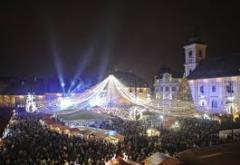 Se deschide Târgul de Crăciun de la Sibiu