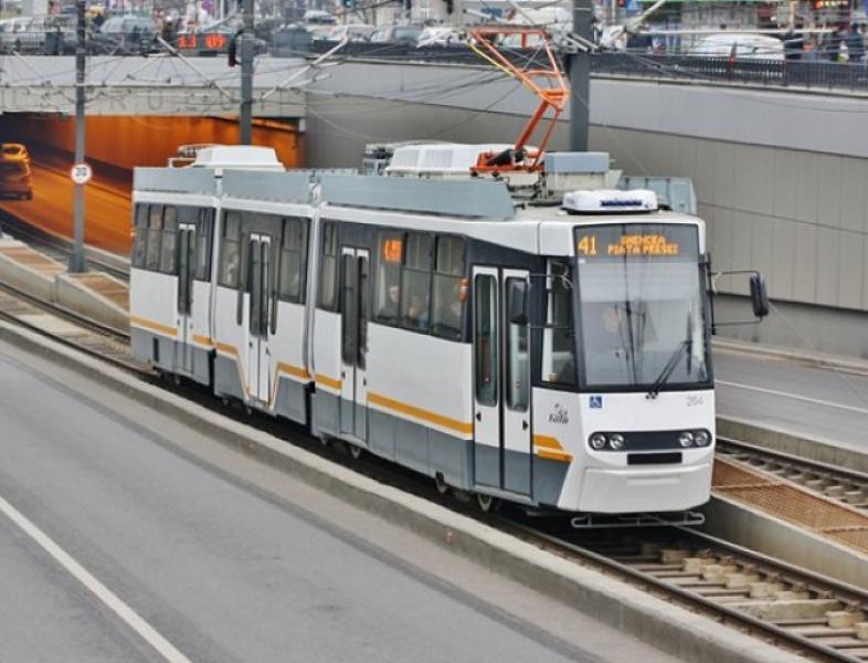 Cel mai nou tramvai românesc e în teste la Timișoara