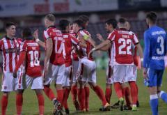 Dinamo ar putea prinde play-off ul Ligii I