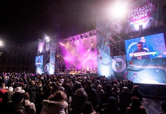 Programul concertelor din Orașul Faptelor Bune