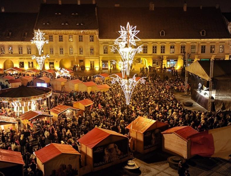 Târgul de Crăciun mutat din Piața Victoriei