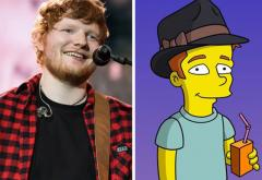 VIDEO: Ed Sheeran va interpreta un personaj în The Simpsons