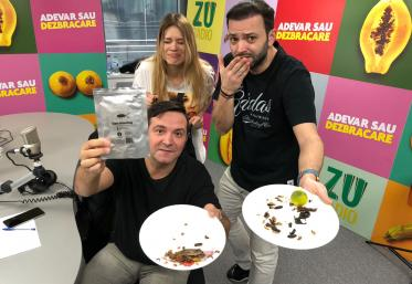 Buzdu și Morar au mâncat gândaci pentru prima oară