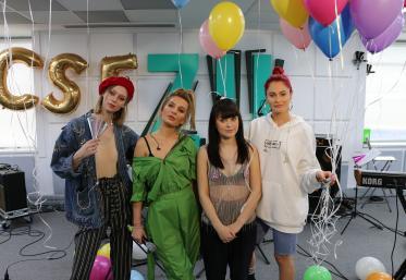 Ana Baniciu, Raluka, Irina Rimes și Nika au făcut schimb de piese la ZU
