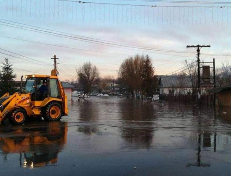 Inundații în sudul țării