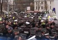 Protest de amploare al politistilor pe 24 martie
