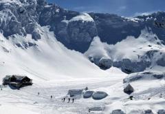 Risc de avalanșă, în Masivul Făgăraș