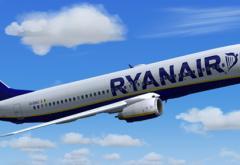 Ryanair zboară doar de la București