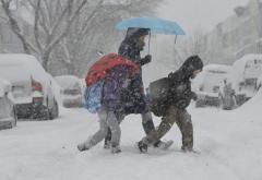 Vremea rea închide şcolile