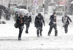 Iarna revine în forţă în jumătatea de sud a ţării