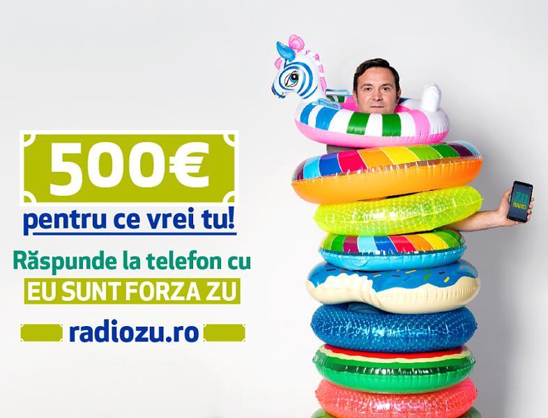 """Răspunde cu """"Eu sunt Forza ZU"""" și câștigi 500€ pentru ce vrei tu!"""