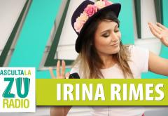 Irina Rimes își face încălzirea pentru Forza ZU 2018