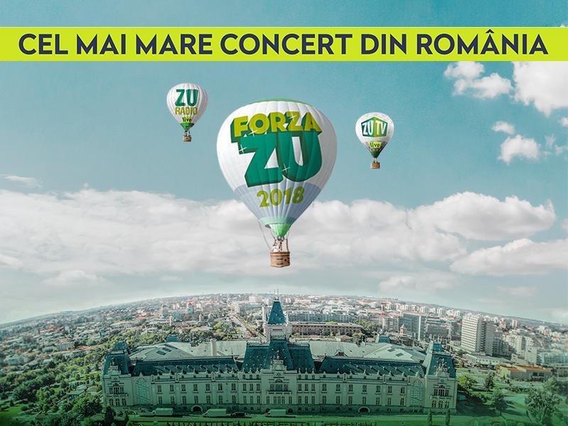 Forza ZU 2018: Programul celui mai mare concert din România