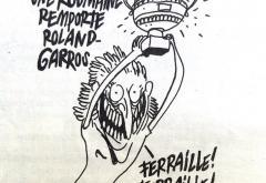 Simona Halep, ironizată în revista de umor Charlie Hebdo