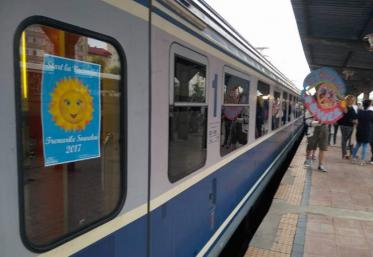 """""""Trenurile Soarelui"""" se pun pe șine"""