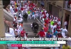 Răniți la Pamplona