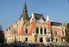 Pompierii și polițiștii fac anchetă în cazul incendiului de la Palatul Episcopal Greco Catolic din Oradea