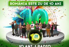 10 ani Radio ZU: În Septembrie, pe ZU, ai GIVEAWAY de la DJ-i