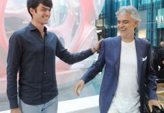 """""""Fall On Me"""". Primul duet făcut de Andrea Bocelli cu fiul, Matteo, direct în Torpedoul lui Morar"""