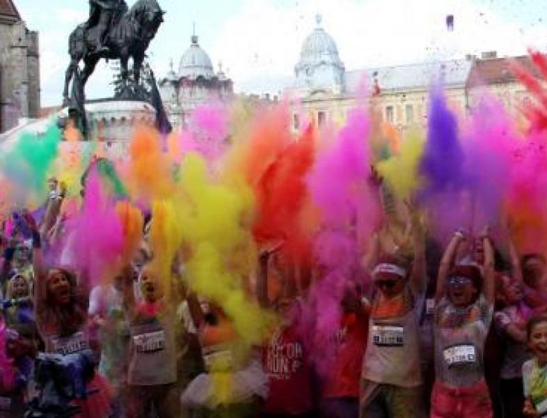 The Color Run 2018 - mâine, în București