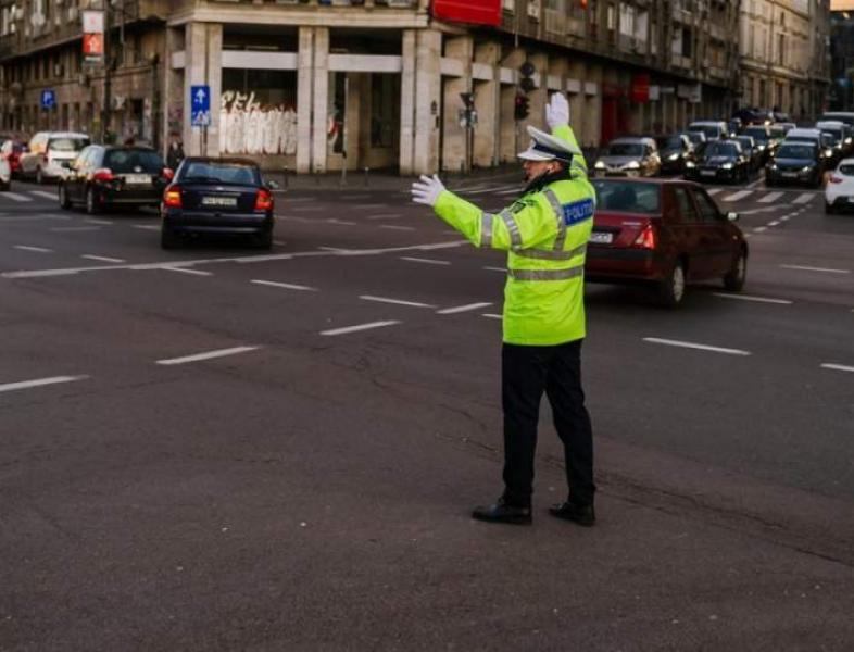 Restricții de trafic, mâine, în Capitală