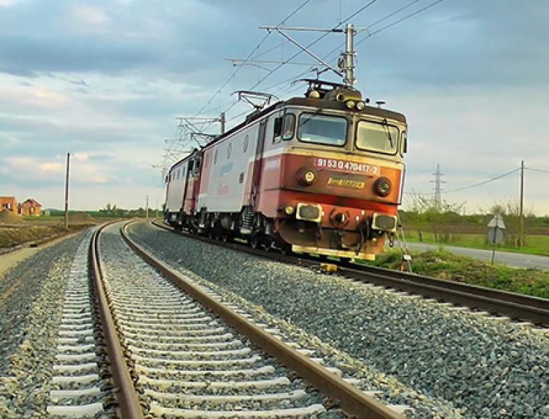 S-a redeschis circulația feroviară pe viaductul Cârcea