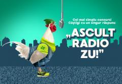 """Câștigă sute de euro! Răspunde cu """"Ascult Radio ZU"""""""