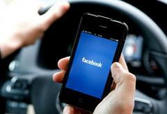 Șoferii care fac live pe Facebook – în vizorul polițiștilor