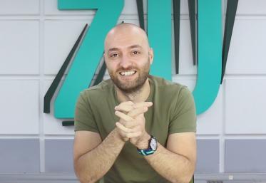"""Cosmin Cojocaru la 10 ani de ZU: """"Eu sunt omul cu vorbe puține, de obicei"""""""