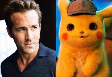 Ryan Reynolds se transformă în Pikachu pentru un nou film. Vezi trailer-ul!
