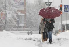 Informare de la meteorologi de vreme rece și ninsori