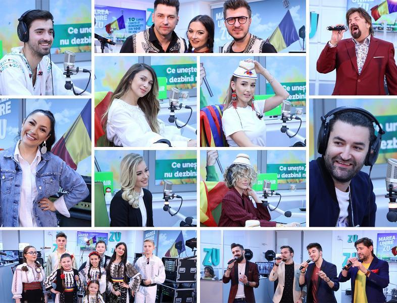 Marea Unire ZU 2018: Urmărește aici toate piesele cântate LIVE!