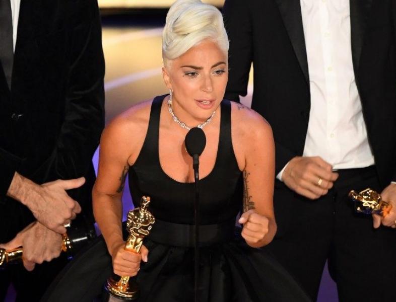 """Lady Gaga, Premiile Oscar 2019: """"Dacă ai un vis, luptă pentru el!"""""""