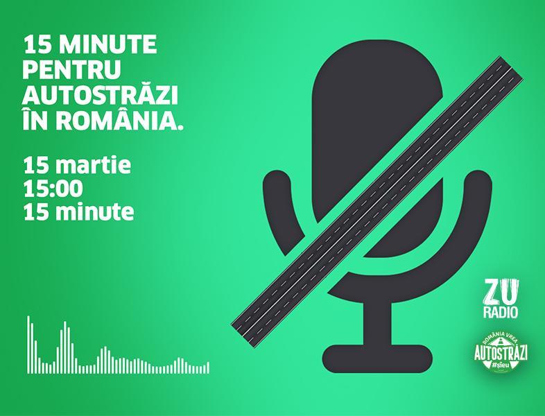 """""""Deșteaptă-te, Române!"""" și vocile voastre - 15 minute pentru autostrăzi în România #ȘîEu"""