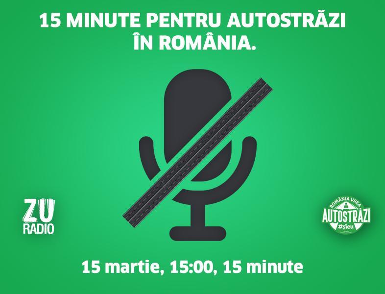 România vrea autostrăzi. #ȘîEu. ZU se alătură campaniei