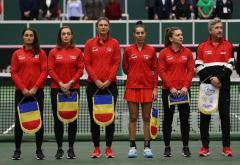 S-a stabilit lotul României pentru meciul de Fed Cup cu Franța