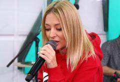 """Delia a cântat """"Rămâi"""" live în Morning ZU"""