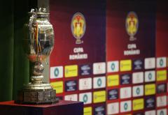 Semifinalele Cupei României la fotbal se joacă mâine şi joi