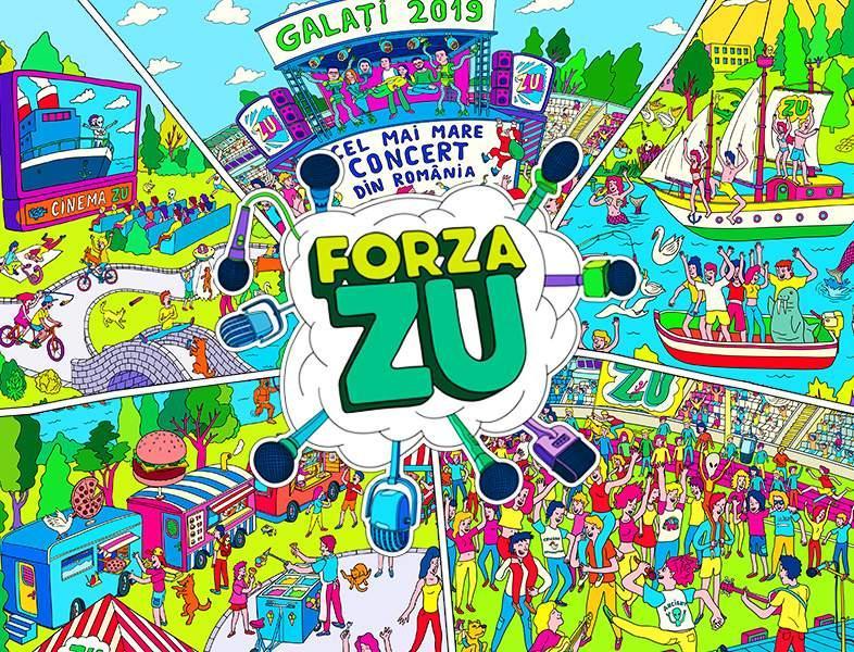 Forza ZU se face la Galați, anul acesta