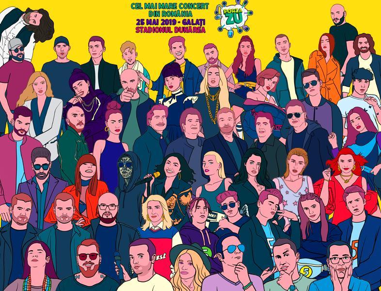 Lista artiștilor care vor urca pe scena Forza ZU 2019