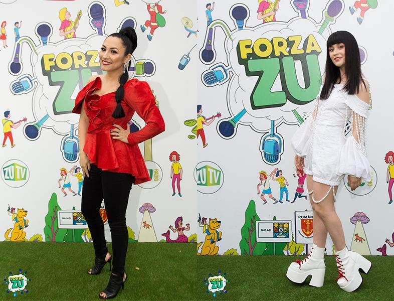 Uite cât de cool au fost îmbrăcate artistele la Forza ZU 2019!