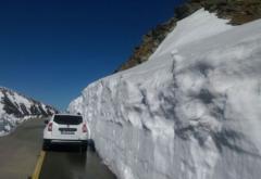 Zăpadă de 4 metri pe Transalpina