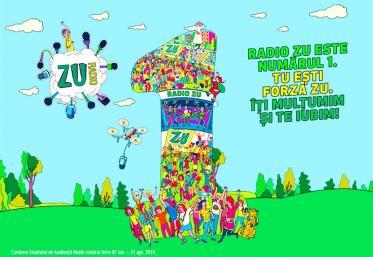 Radio ZU își păstrează prima poziție în topul preferințelor ascultătorilor din București