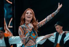 Elena Gheorghe, show cu muzică machedonească pe scena Forza ZU